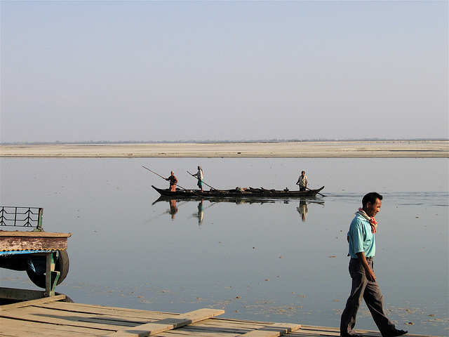 On the banks of the Brahmaputra