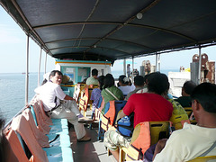 Ferry from Si Racha to Ko Si Chang