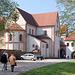 Monaĥejo de Benediktanoj en Wechselburg, Mulde-valo, Benedektinerkloster, Muldental, Wechselburg, Deutschland