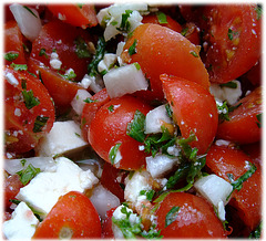 Salat aus eigenem Garten