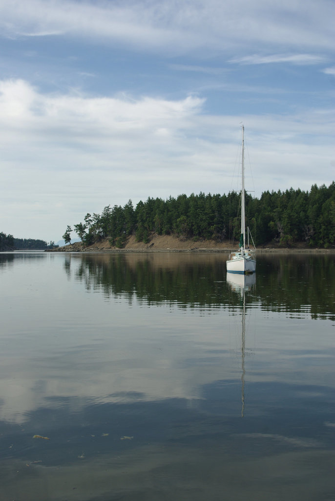 Calm Waters at Horton Bay, Mayne Island