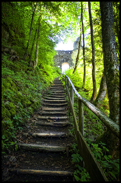 stair to the light......