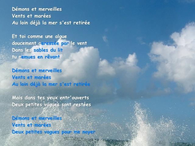 Sables mouvants, de Jacques Prévert