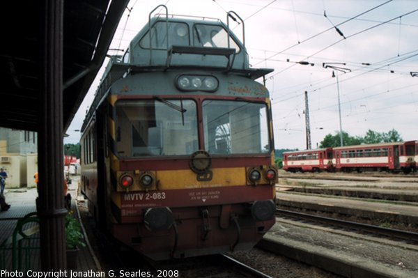 CD #MVTV2-083 at Cercany, Bohemia (CZ), 2008