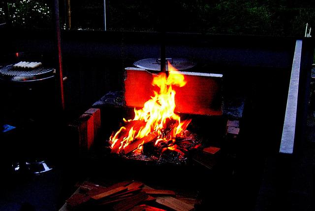 Meine Feuerstelle