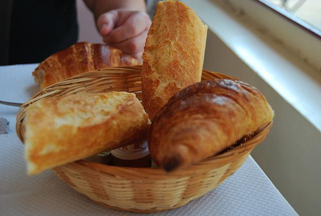 me suis mise au régime , plus de pain avec le beurre