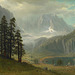 Inyo Country, California, œuvre de lbert Bierstadt