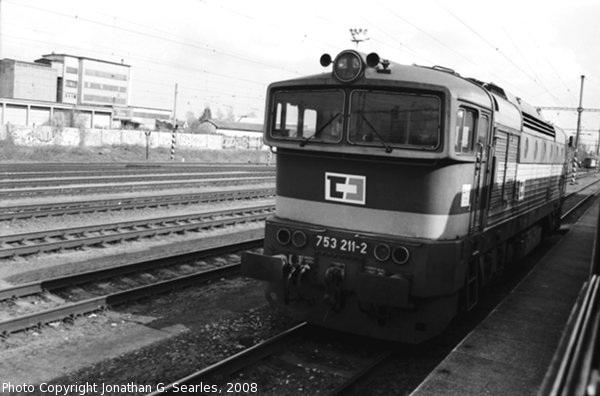 CD #753211-2 at Nadrazi Vsetaty, Vsetaty, Bohemia (CZ), 2008