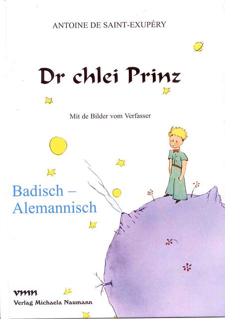 La Eta Princo. Badena-Alemana Germana