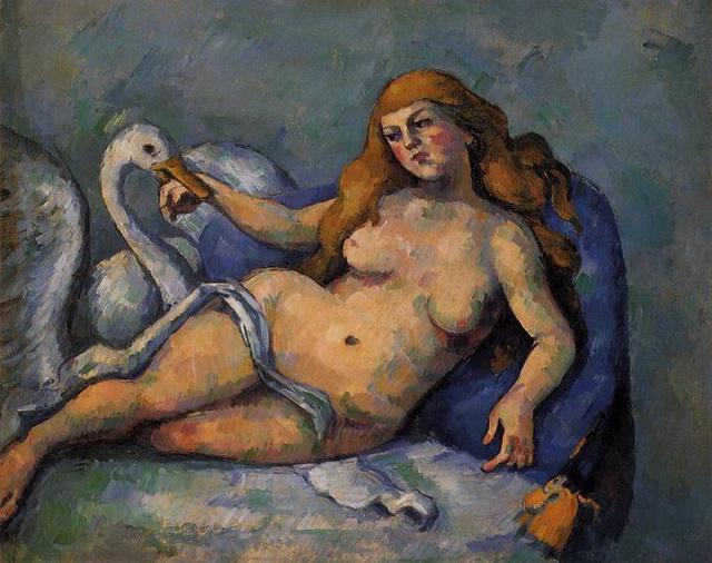 Leda au cygne, œuvre de Paul Cézanne
