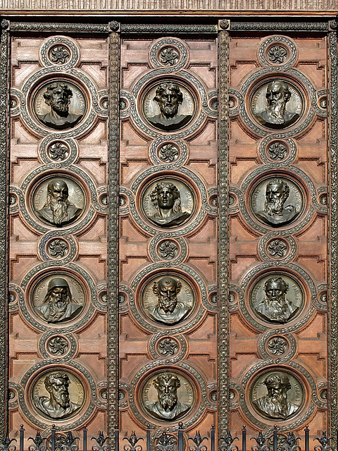 P6127222ac Budapest Cathedral St Stephens Door