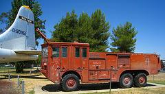 Castle Air Museum Fire Truck (3254)