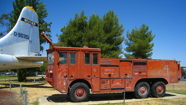 Castle Air Museum Fire Truck (3254)