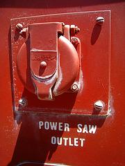 Castle Air Museum Fire Truck Detail (3255)