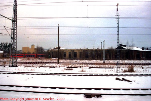 Old Roundhouse, Pirna, Sachsen, Germany, 2009