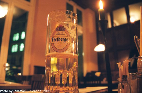 Freiberger Bier, Dresden, Germany, 2009