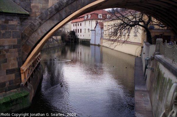 Karluv Most Over Certovka, Picture 2, Prague, CZ, 2009