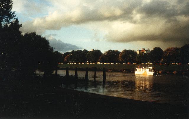 Bremen, Weser und Osterdeich
