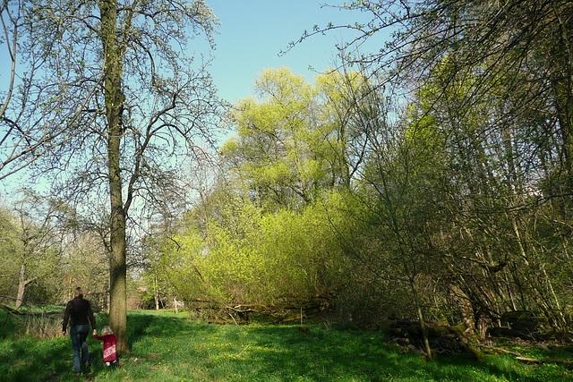 Ostern 2009 - Schloßpark Nöthnitz