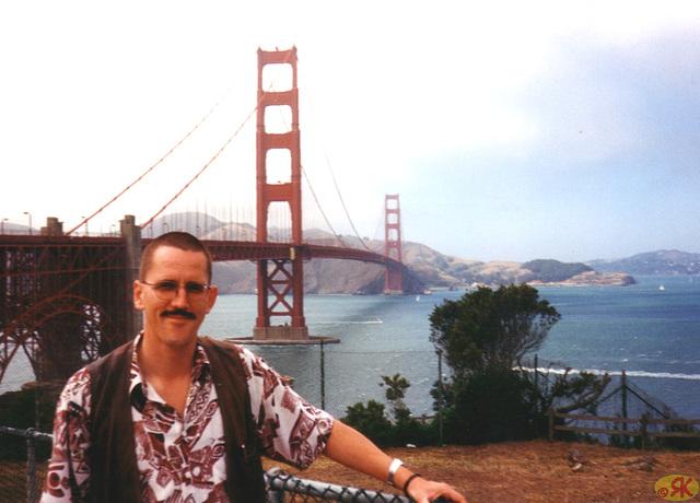 1997-07-12 39 San Francisco, Golden Gate - ponto