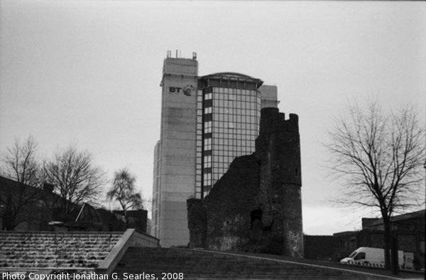 Swansea Castle, Picture 4, Swansea, Wales (UK), 2008