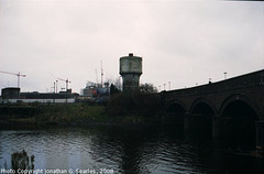 Railway Viaduct Over The River Taw, Cardiff, Wales (UK), 2008