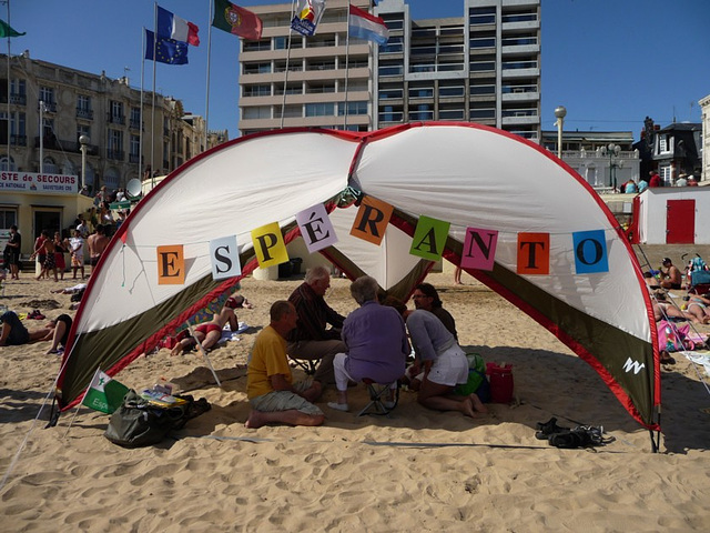 Les Sables 2009 strando