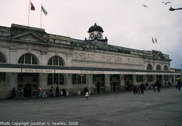 Cardiff Central Station, Cardiff, Wales (UK), 2008