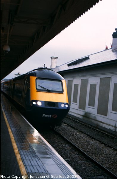 FGW Class 43 At Cardiff Central, Cardiff, Wales (UK), 2008