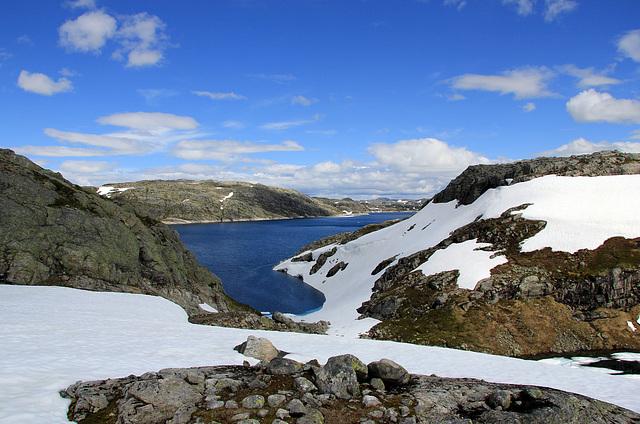Blåsjø Reservoir in Ryfylke and Setesdal