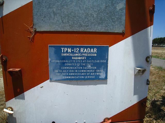 TPN-12 Radar Surveillance Precision Radar Set (3128)