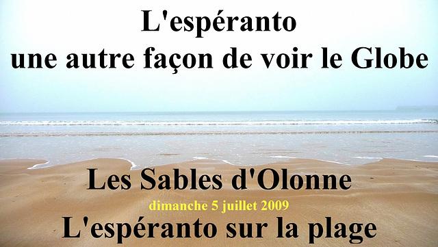 Les Sables Espéranto 1909-2009