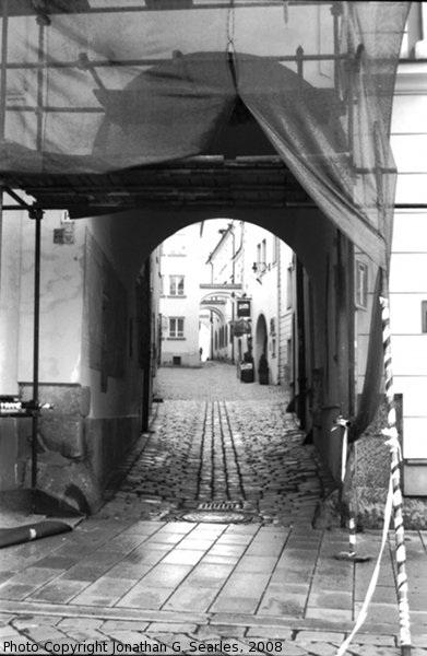 Doorway, Olomouc, Moravia (CZ), 2008