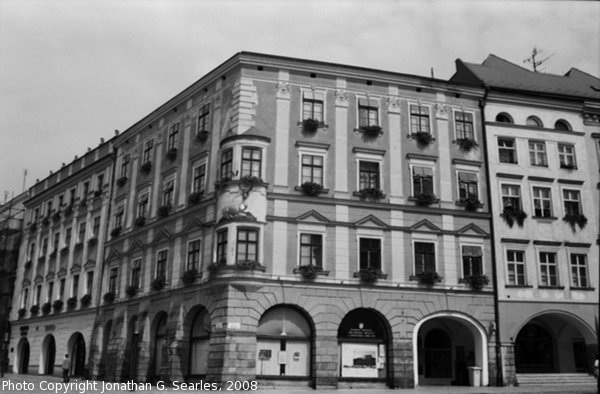 Deer Building in Olomouc, Moravia (CZ), 2008