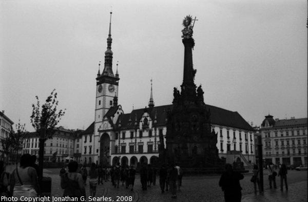 Holy Trinity Column, Picture 2, Olomouc, Moravia (CZ), 2008