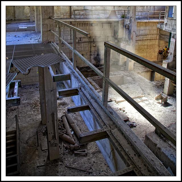 'transparent' ways in cement city