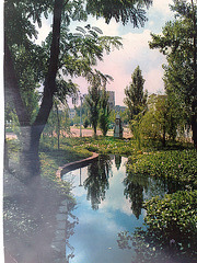 Valencia años 70: Jardines de Serranos.
