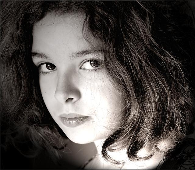 en noir et blanc , Emma