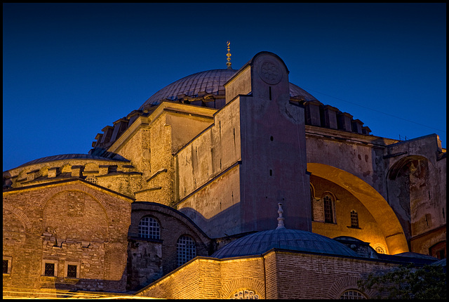 Hagia Sofia by night....