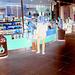 Café Baresse et délice podoérotique -  Baresse coffee podoerotic delight  / Kastrup Copenhagen airport  - 20 octobre 2008- Effet de négatif / Negative effect