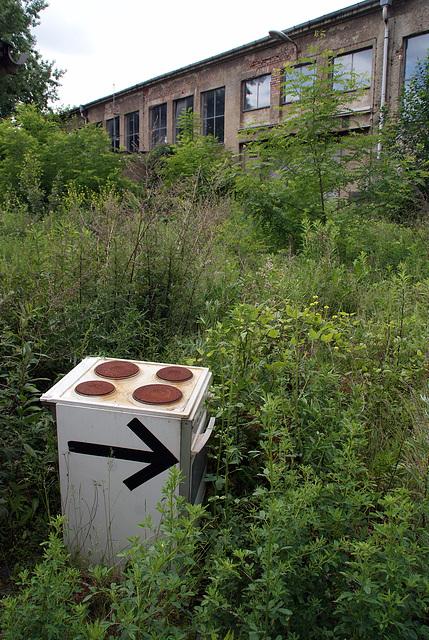 just follow the arrow