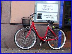 Vélo suédois de Novembre Salongema /  November Salongerna swedish bike -  Ängelholm  /  Suède - Sweden.   23 octobre 2008
