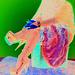 Lady Roxy -  Fur and dizzy heels / Fourrure et talons extrêmes -  Avec / With permission .   Effet de négatif