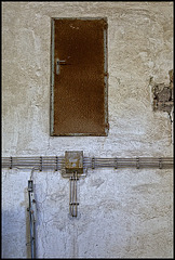 the strange rusty door.......