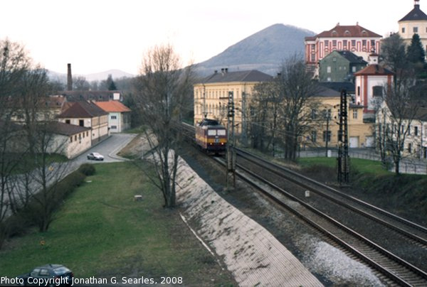 CD Freight Train, Litomerice, Bohemia (CZ), 2008