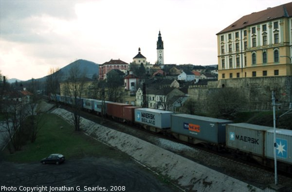CD Freight Train, Picture 6, Litomerice, Bohemia (CZ), 2008