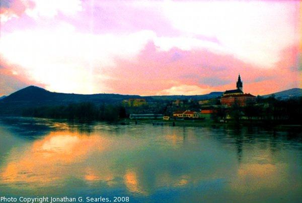 River Labe, High Saturation Version, Litomerice, Bohemia (CZ), 2008