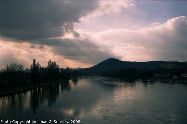 River Labe, Picture 4, Litomerice, Bohemia (CZ), 2008