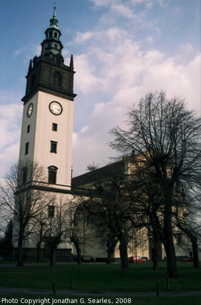 Clock Tower On Cathedral, Litomerice, Bohemia (CZ), 2008