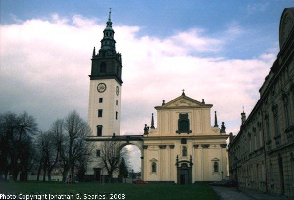 Cathedral, Picture 4, Litomerice, Bohemia (CZ), 2008
